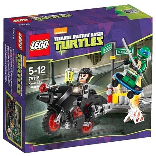Lego 79118 TMNT Побег Караи на мотоцикле
