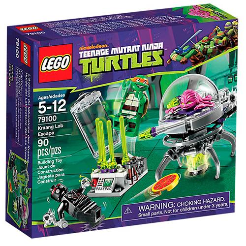 Lego 79100 TMNT Побег Крэнга из лаборатории