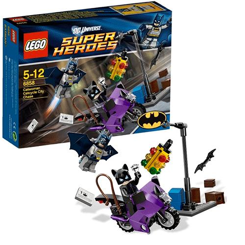 Lego 6858 Batman Городская погоня за котоциклом Женщины-кошки