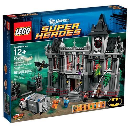 Lego 10937 Batman Побег из психиатрической клиники Аркхэм