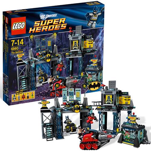 Lego 6860 Batman Логово Бэтмена
