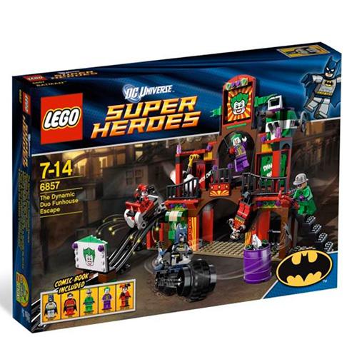 Lego 6857 Batman Двойной побег из дома аттракционов