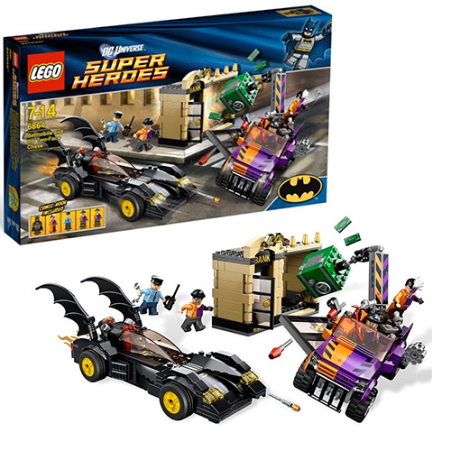 Lego 6864 Batman  Преследование Двуликого на Бэтмобиле