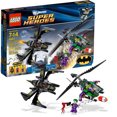 Lego 6863 Batman Бэтмен против Джокера