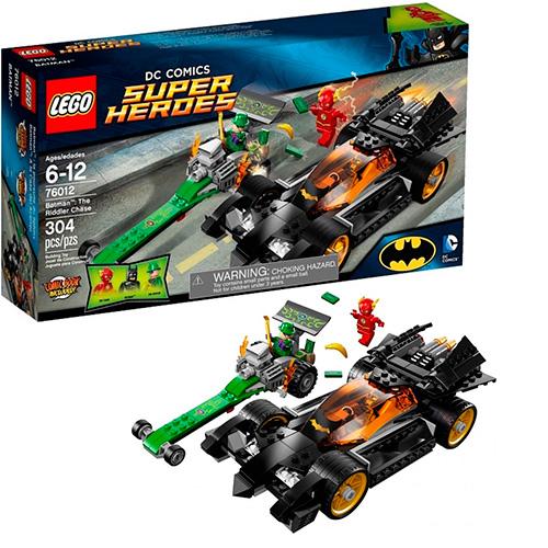 Lego 76012 Batman Преследование Загадочника