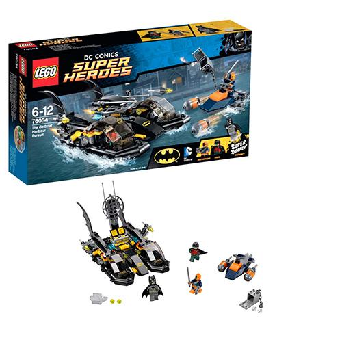 LEGO Super Heroes 76034 DC Universe Погоня в бухте на Бэткатере