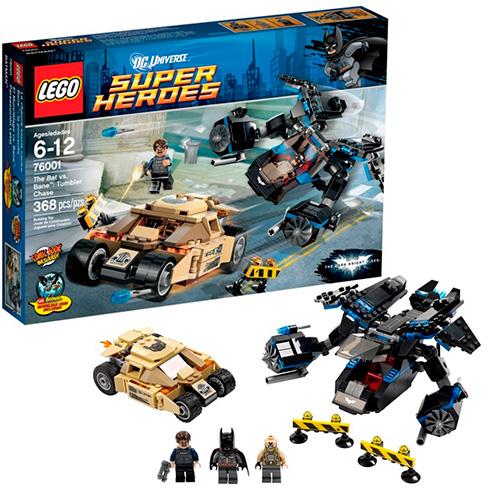 "Lego 76001 Batman  ""Бэт"" против Бэйна - погоня за ""Тумблером"""