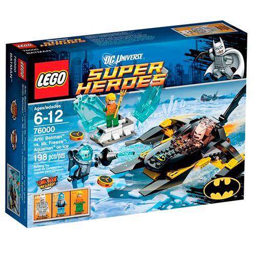 Lego 76000 Batman Аквамен на льду