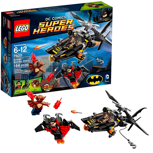 Lego 76011 Batman Атака Мэн-Бэта
