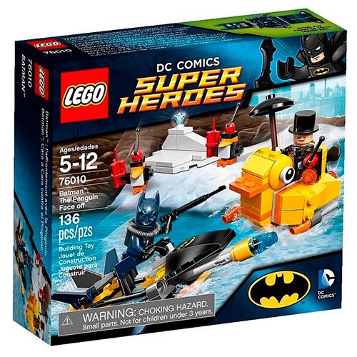 Lego 76010 Batman Пингвин даёт отпор