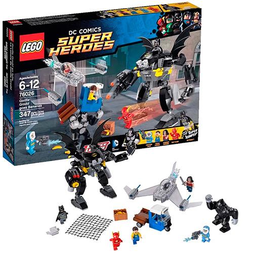Lego 76026 Batman Свирепость Гориллы Гродда