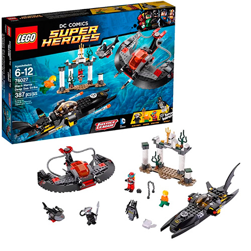 Lego 76027 Batman Глубоководная атака Чёрной Манты
