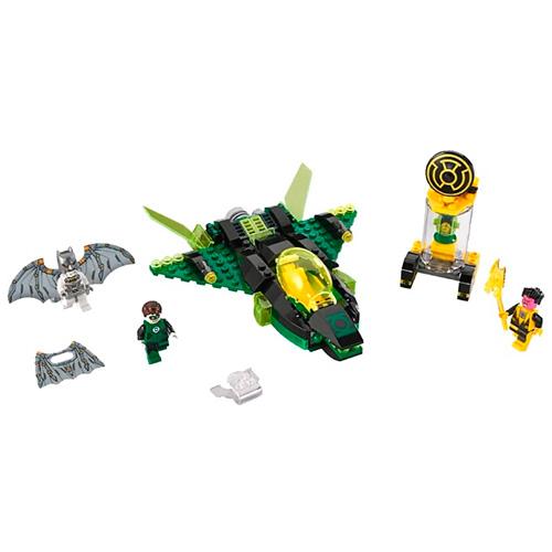 Lego 76025 Batman Зелёный Фонарь против Синестро