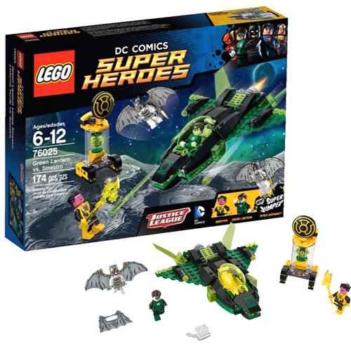 LEGO Super Heroes 76025 DC Universe Зелёный Фонарь против Синестро