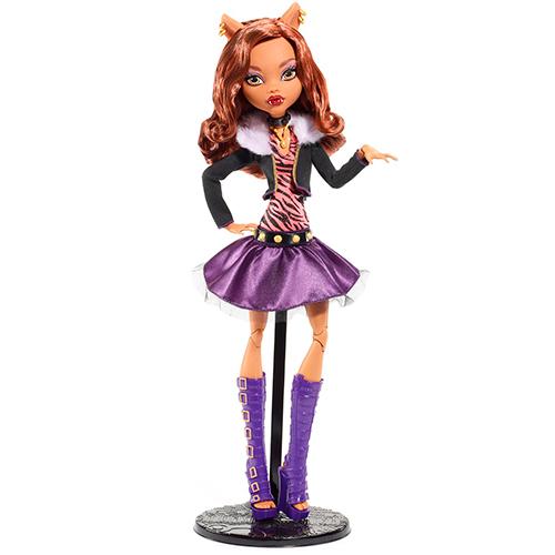 Клодин Вульф 17 дюймовая  кукла 17-inch Clawdeen Wolf Doll