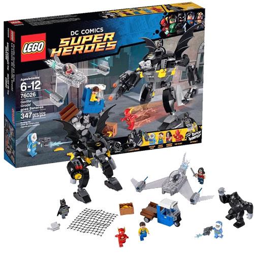 LEGO Super Heroes 76026 DC Universe Свирепость Гориллы Гродда