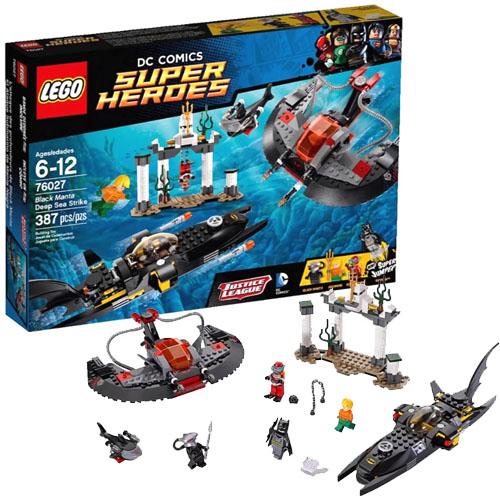LEGO Super Heroes 76027 DC Universe Глубоководная атака Чёрной Манты