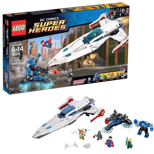 LEGO Super Heroes 76028 DC Universe Вторжение Дарксайда