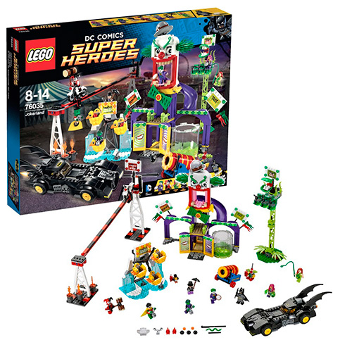 LEGO Super Heroes 76035 DC Universe Джокерленд