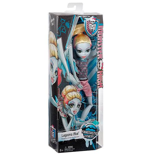 Лагуна Блю кукла Fangtastic Fitness Lagoona Blue Doll