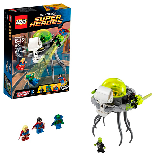 LEGO Super Heroes 76040 DC Universe Атака Брейниака