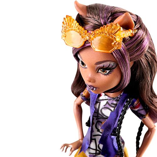 Клодин Вульф кукла Boo York Frightseers Clawdeen Wolf Doll