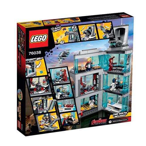 LEGO Super Heroes 76038 Marvel Эра Альтрона: Нападение на Башню Мстителей