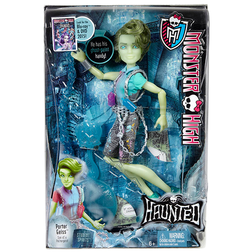 Портер Гейсс кукла Haunted Student Spirits Porter Geiss Doll