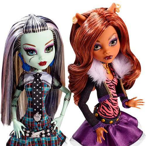 Monster High Original Ghoul Collections Doll 6-Pack