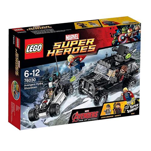 LEGO Super Heroes 76030 Marvel Эра Альтрона: Поединок Мстителей и Гидры
