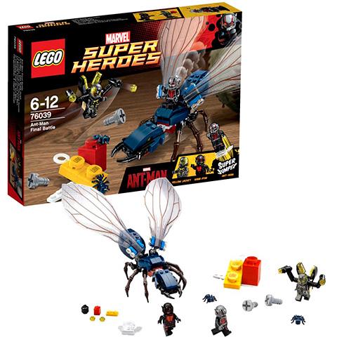 LEGO Super Heroes 76039 Marver Решающая битва Человека-муравья