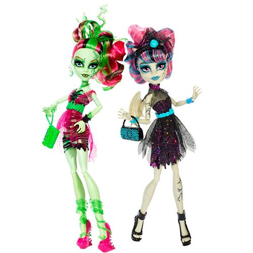 Рошель Гойл и Венера Макфлайтрап Zombie Shake Rochelle Goyle and Venus McFlytrap Dolls