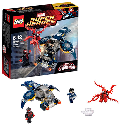 LEGO Super Heroes 76036 Marvel Воздушная атака Карнажа