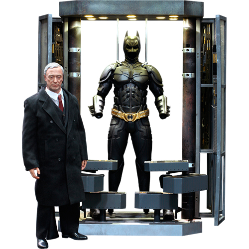 Batman Armory with Alfred Pennyworth
