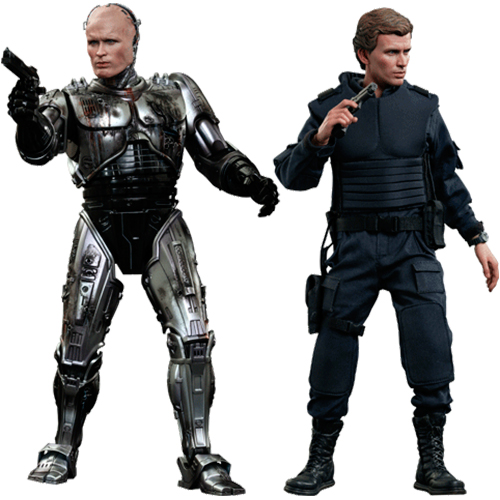 RoboCop (Battle Damaged Version) & Alex Murphy