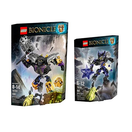 LEGO Bionicle 5004466 Комплект героев - Защитники Земли