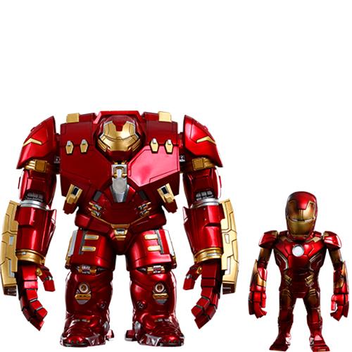 Mark XLIII (Battle Damaged Version) and Hulkbuster – Artist Mix