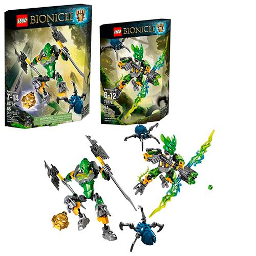 LEGO Bionicle 5004463 Комплект героев - Защитники Джунглей