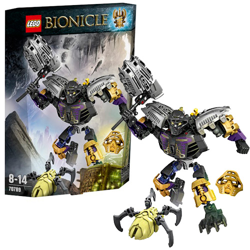 LEGO Bionicle 70789 Онуа - Повелитель Земли