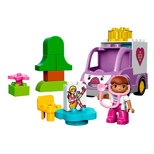 LEGO Duplo 10605 Скорая помощь доктора Плюшевой