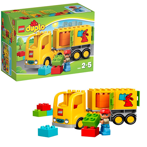LEGO Duplo 10601 Жёлтый грузовик