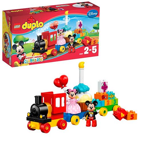 LEGO Duplo 10597 День рождения с Микки и Минни