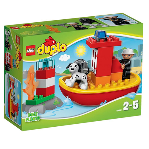 LEGO Duplo 10591 Пожарный катер