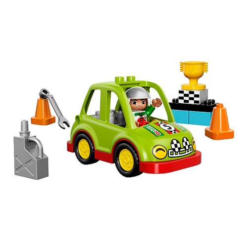 LEGO Duplo 10589 Гоночный автомобиль
