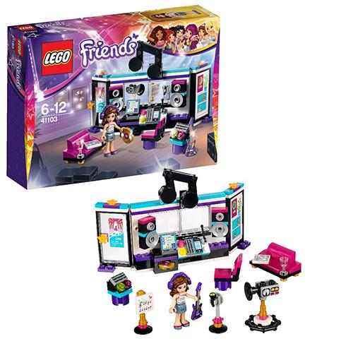 LEGO Friends 41103 Поп-звезда: Студия звукозаписи