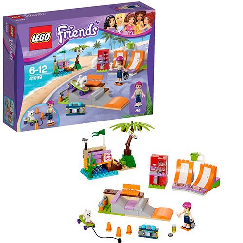 LEGO Friends 41099 Скейт-парк