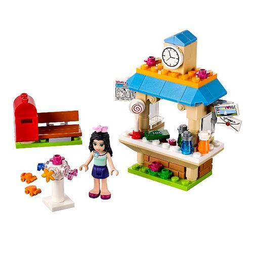 LEGO Friends 41098 Туристический киоск Эммы