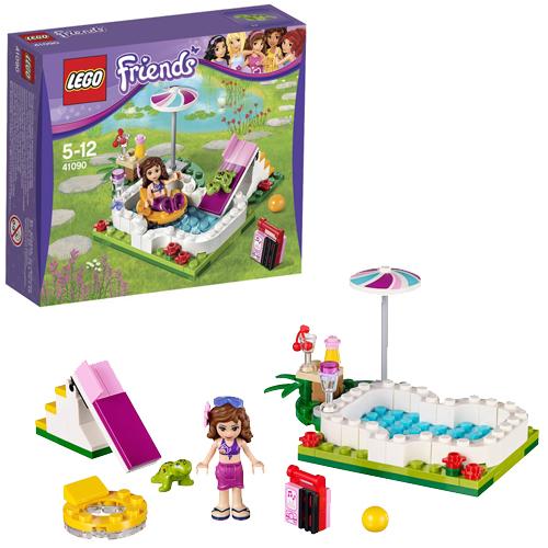 LEGO Friends 41090 Маленький бассейн Оливии