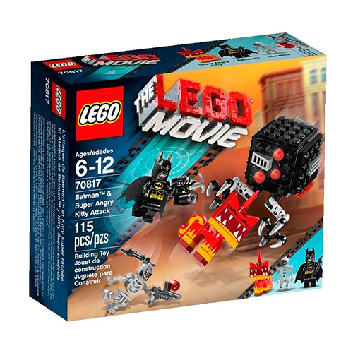 LEGO Movie 70817 Бэтмен и Супер Злая Кисонька атакуют