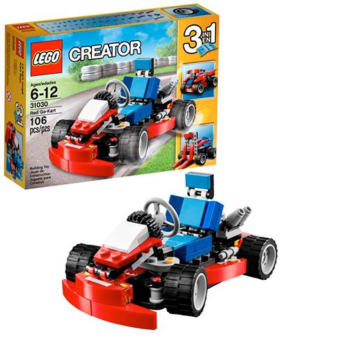 LEGO Creator 31030 Красный гоночный карт